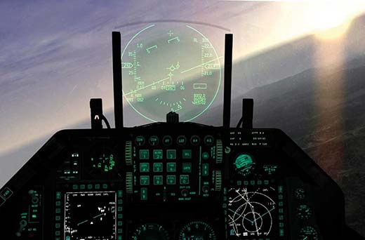 Similar to heads-up displays used by military pilots, Sector Optics Internal Display technology incorporates a transparent display into riflescopes, spotting scopes, and binoculars.