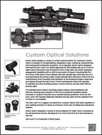 Custom Optical Solutions brochure