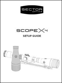 scopex4 manual