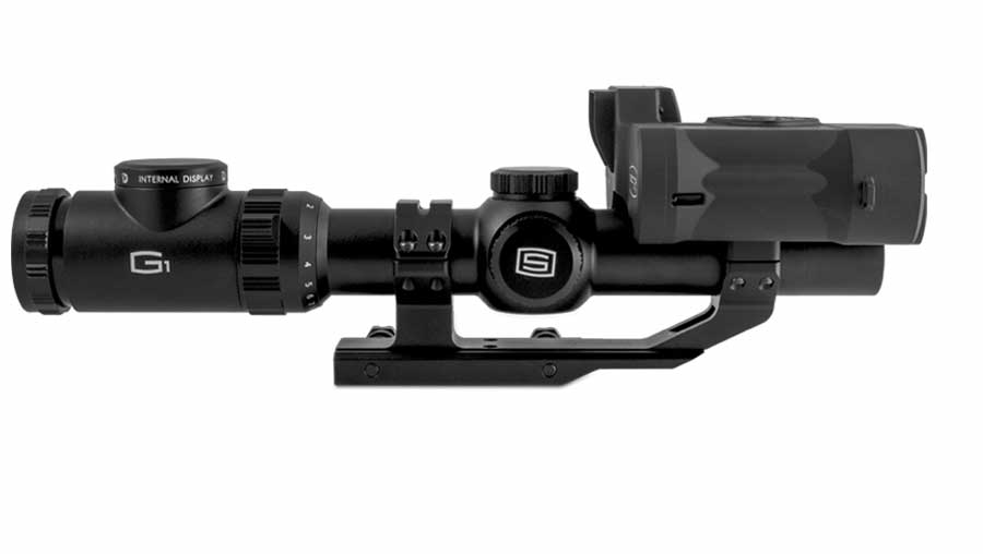 Sector Optics G1T2 System expands the capabilities of the shooter, delivering thermal images of the surroundings and target range up to 1,000 yards.