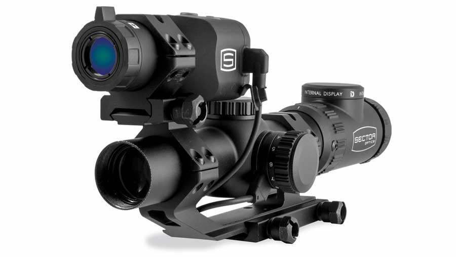 Sector Optics G1 riflescope is the first product with the unique Internal Display technology.