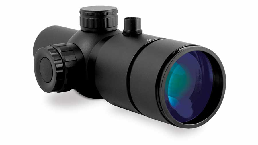 Sector Optics G5 riflescope, a 5x prismatic scope with focus adjustment, is integrated with the unique Internal Display (ID) technology.