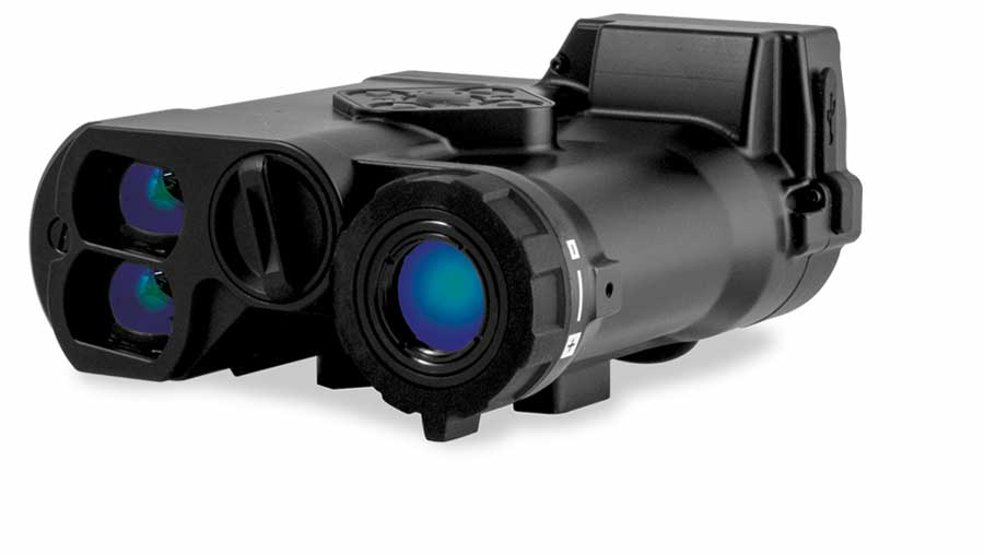 Sector Optics T2 thermal imager, the first product released with ID™ has both a laser rangefinder and a 3-8x optical-zoom thermal imager.