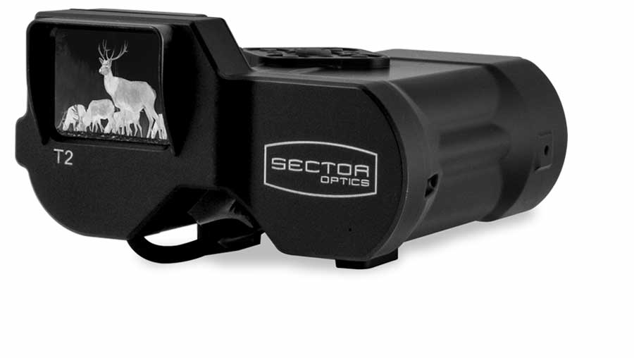 Sector Optics T2 thermal imager has on-board image capture.